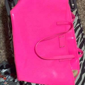 Kate space hot pink purse